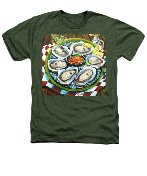 Oysters On The Half Shell Heathers T-Shirt by Dianne Parks