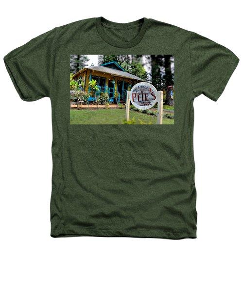 Pele's Lanai Style Heathers T-Shirt by DJ Florek
