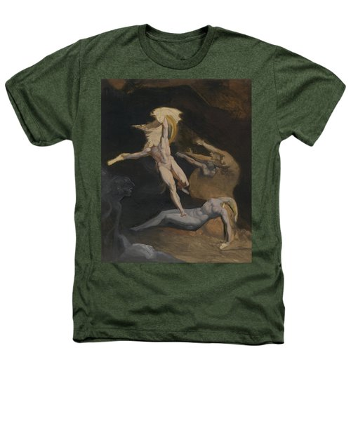 Perseus Slaying The Medusa Heathers T-Shirt by Henry Fuseli