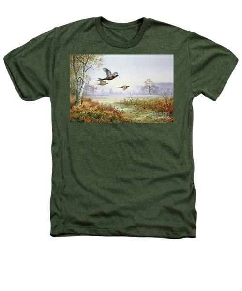 Pheasants In Flight  Heathers T-Shirt