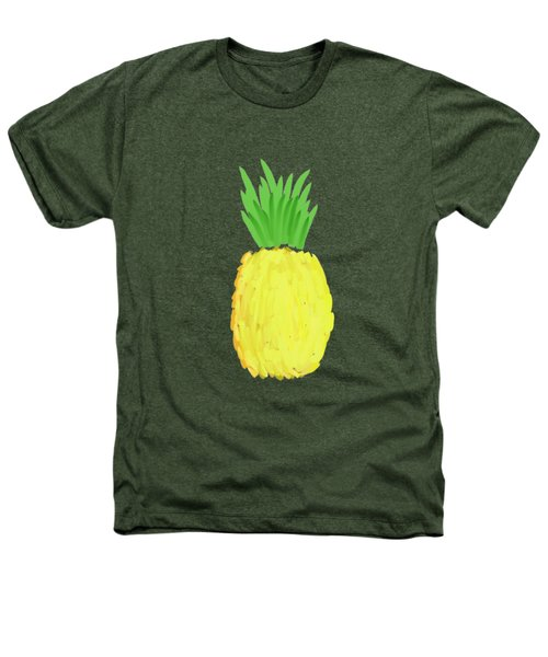 Pineapple Heathers T-Shirt by Priscilla Wolfe