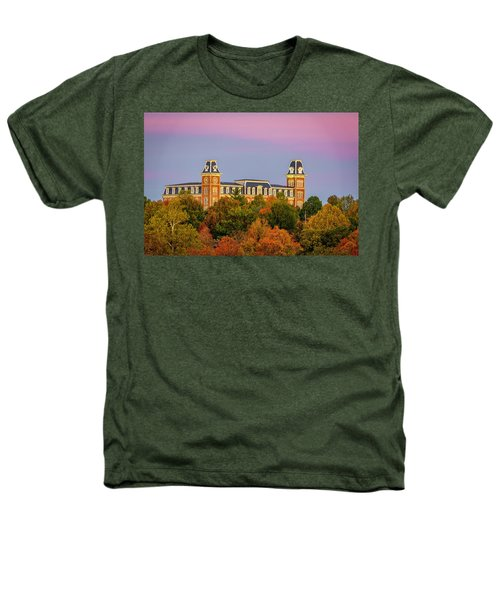 Pink Sky Over Old Main  Heathers T-Shirt