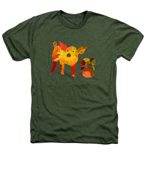 Pretty Pig Heathers T-Shirt by Holly McGee