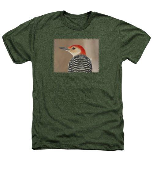 Red Bellied Woodpecker Glamour Portrait Heathers T-Shirt by John Harmon