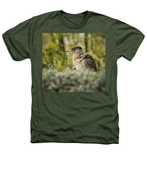 Roadrunner On Guard  Heathers T-Shirt by Saija  Lehtonen