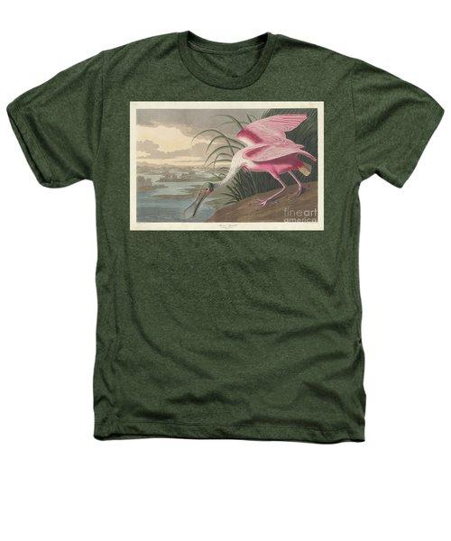 Roseate Spoonbill, 1836  Heathers T-Shirt by John James Audubon