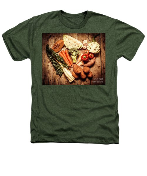 Rustic Style Country Vegetables Heathers T-Shirt