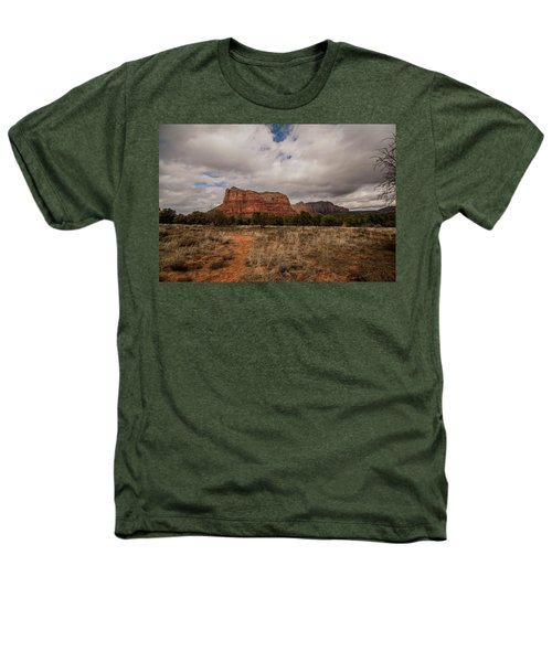 Sedona National Park Arizona Red Rock 2 Heathers T-Shirt