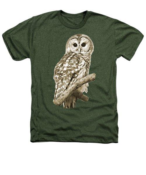 Sepia Owl Heathers T-Shirt