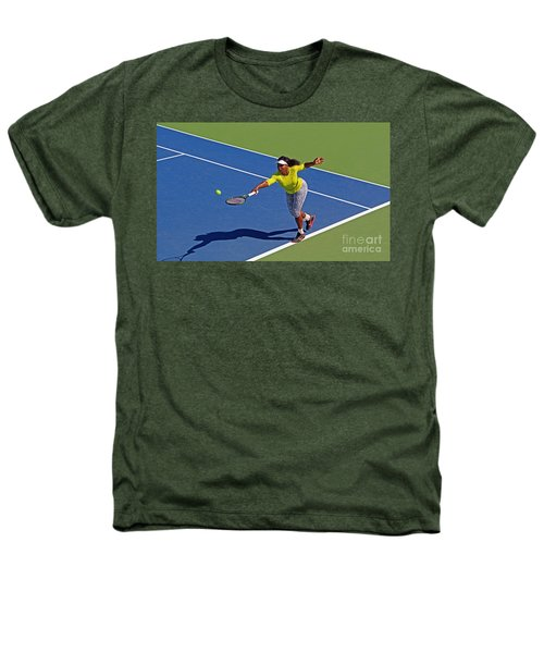 Serena Williams 1 Heathers T-Shirt by Nishanth Gopinathan