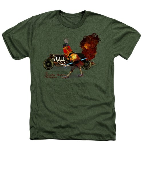 Sir Marcellus Thaddeus Cluckington Heathers T-Shirt by Iowan Stone-Flowers