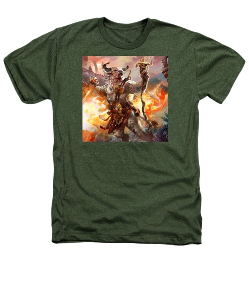 Spiritcaller Shaman Heathers T-Shirt by Ryan Barger