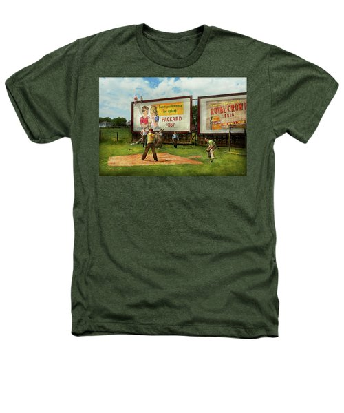 Sport - Baseball - America's Past Time 1943 Heathers T-Shirt by Mike Savad