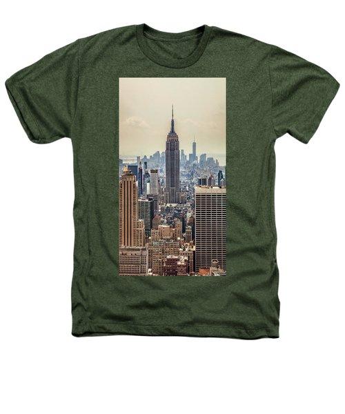 Sprawling Urban Jungle Heathers T-Shirt by Az Jackson