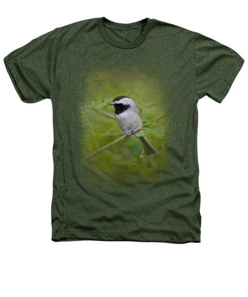 Spring Chickadee Heathers T-Shirt