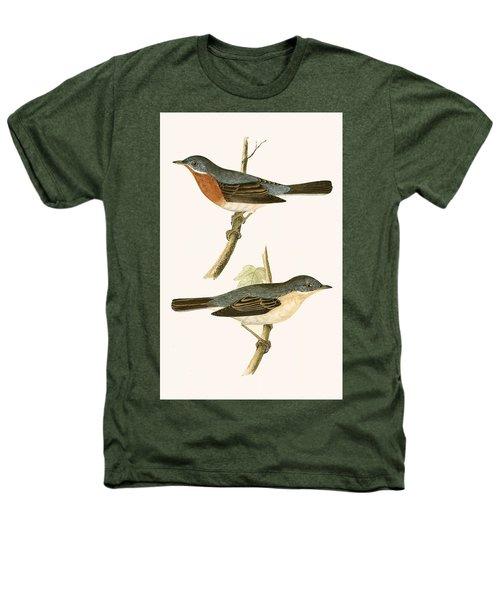 Sub Alpine Warbler Heathers T-Shirt by English School