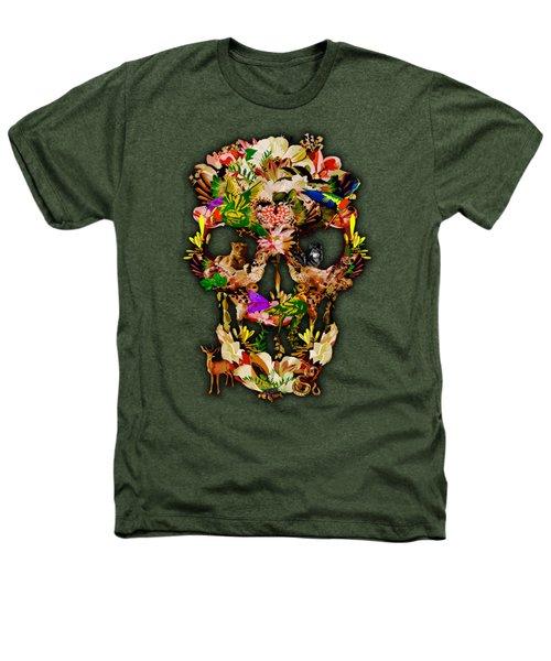 Sugar Skull Animal Kingdom Heathers T-Shirt by Three Second