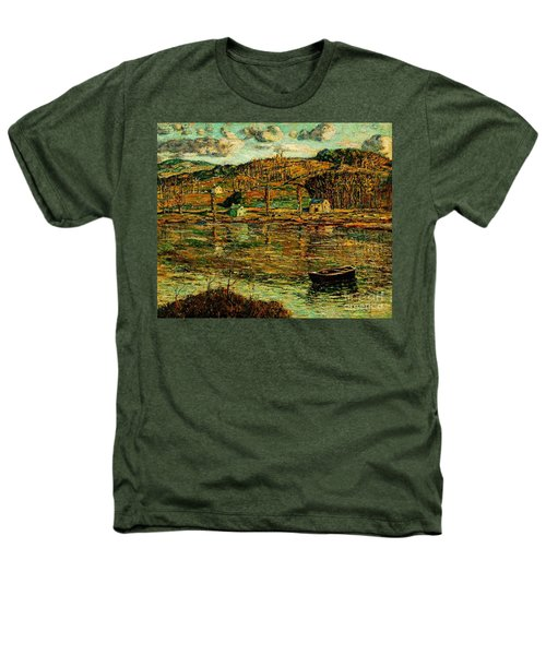 Sunlight On The Harlem River 1919 Heathers T-Shirt