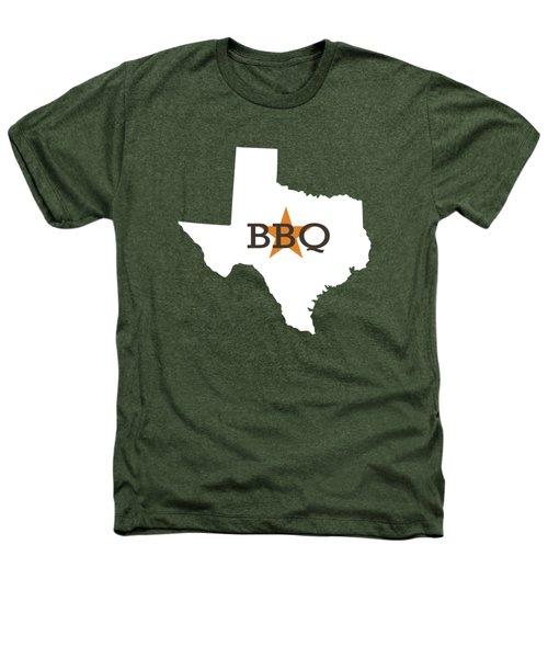 Texas Bbq Heathers T-Shirt by Nancy Ingersoll