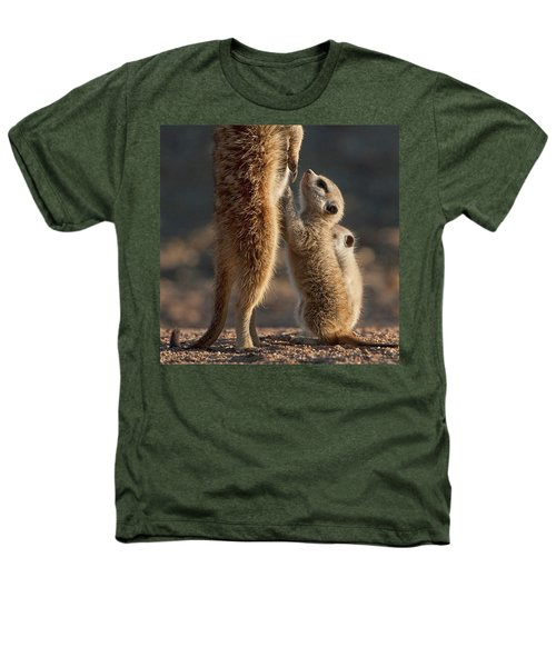 The Baby Is Hungry Heathers T-Shirt by Happy Home Artistry