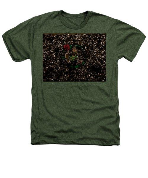 The Boston Celtics 1b Heathers T-Shirt by Brian Reaves