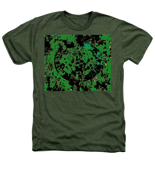 The Boston Celtics 6c Heathers T-Shirt by Brian Reaves