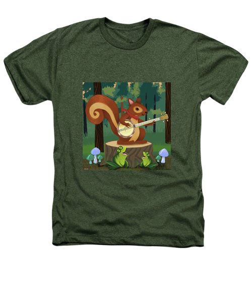 The Nutport Croak Music Festival Heathers T-Shirt by Little Bunny Sunshine
