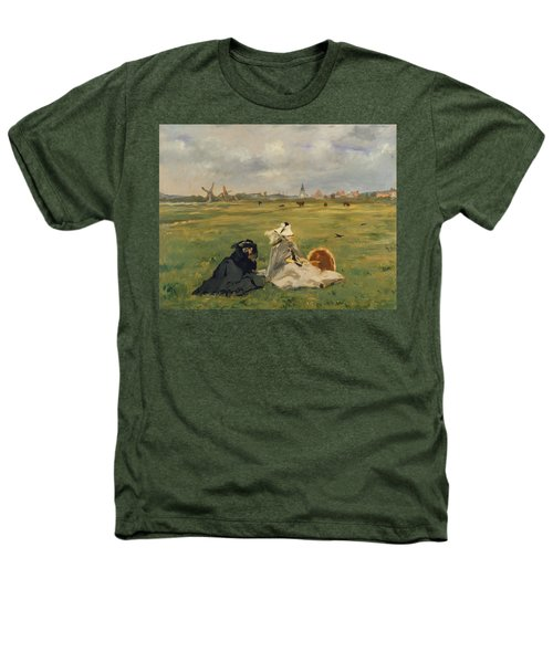 The Swallows Heathers T-Shirt by Edouard Manet