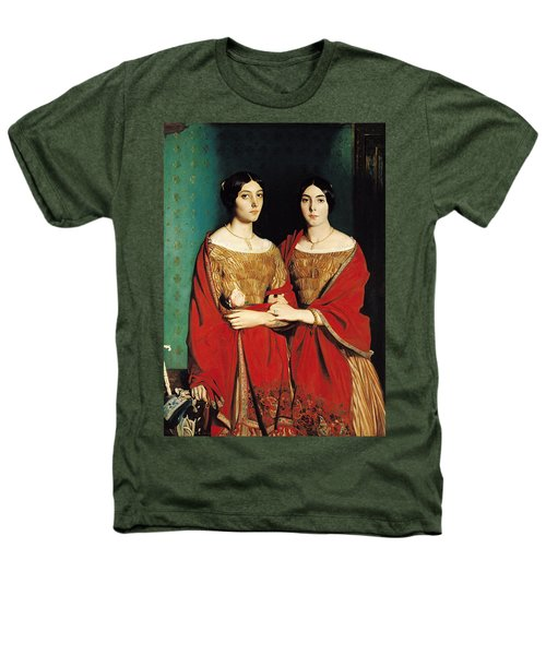 The Two Sisters Heathers T-Shirt by Theodore Chasseriau