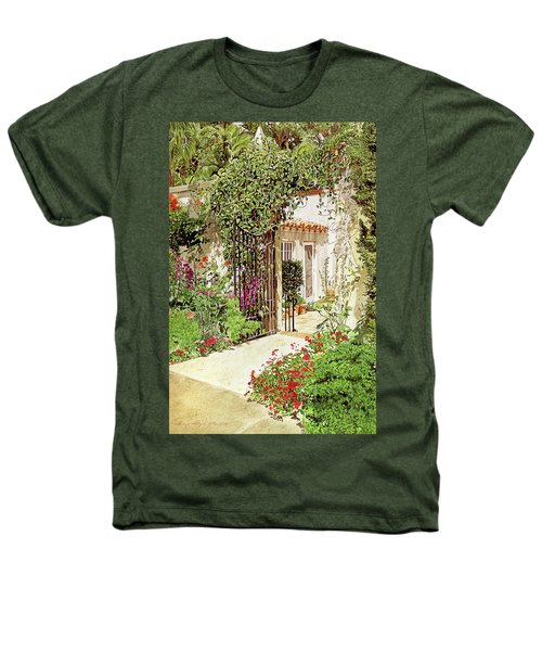 Through The Garden Gate Heathers T-Shirt