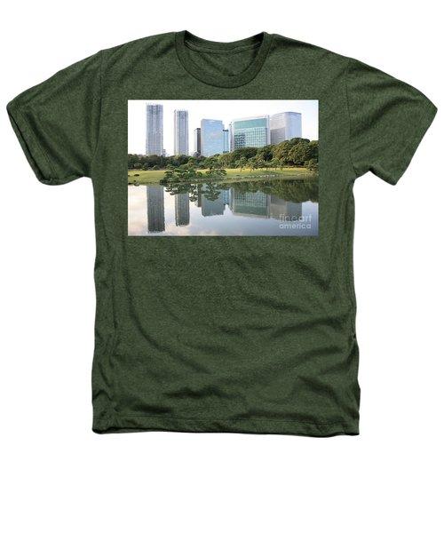 Tokyo Skyline Reflection Heathers T-Shirt