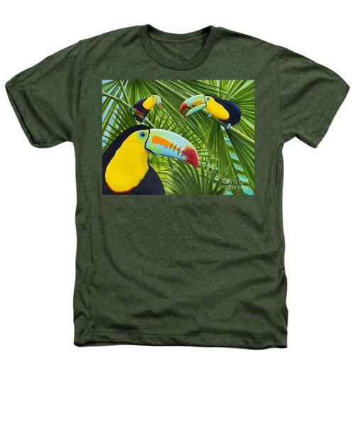 Toucan Threesome Heathers T-Shirt