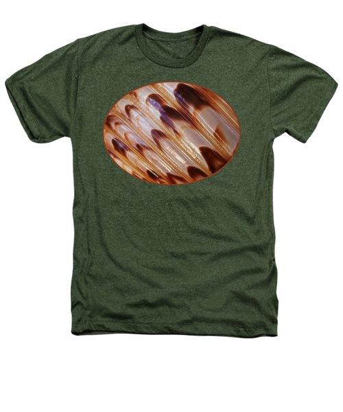 Triton Seashell Abstract Heathers T-Shirt by Gill Billington