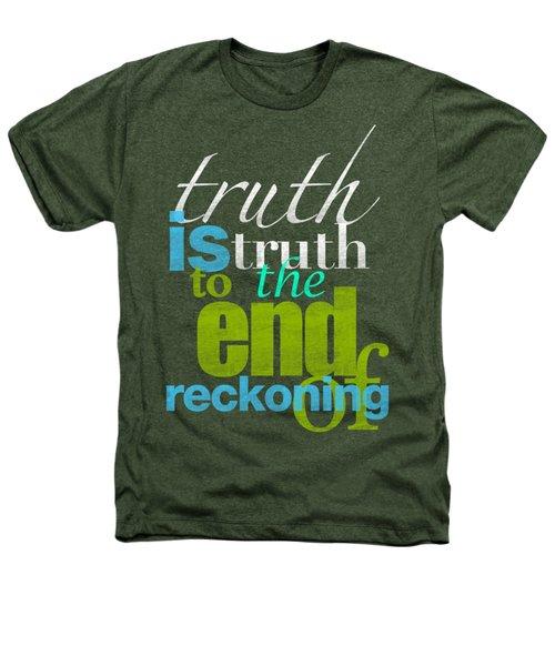 Michael Jackson Truth Is Truth Heathers T-Shirt