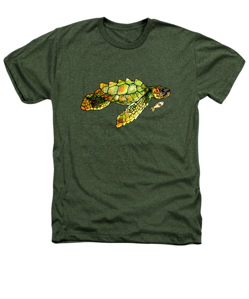 Turtle Talk Heathers T-Shirt by Candace Ho