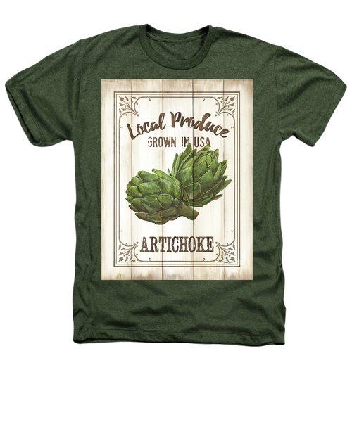 Vintage Fresh Vegetables 2 Heathers T-Shirt