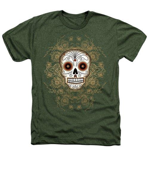 Vintage Sugar Skull Heathers T-Shirt