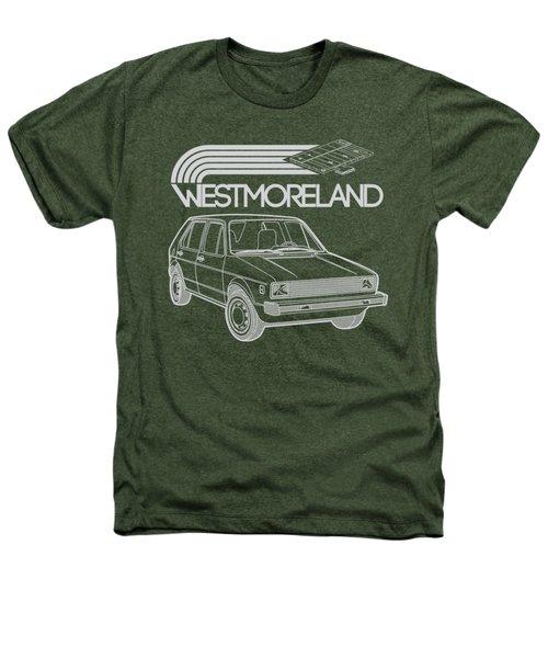 Vw Rabbit - Westmoreland Theme - Gray Heathers T-Shirt
