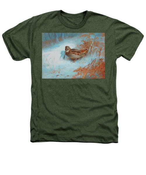 A Woodcock In The Snow Heathers T-Shirt