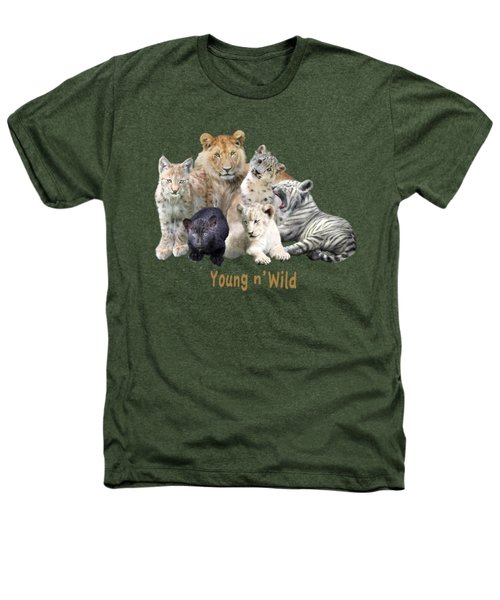 Young And Wild Heathers T-Shirt by Carol Cavalaris