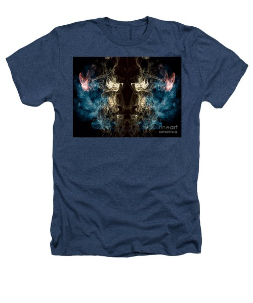 Minotaur Smoke Abstract Heathers T-Shirt