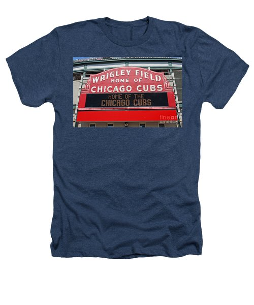 0334 Wrigley Field Heathers T-Shirt