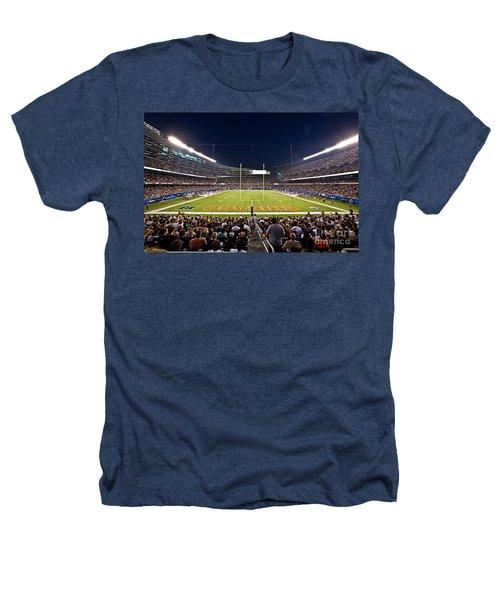 0588 Soldier Field Chicago Heathers T-Shirt