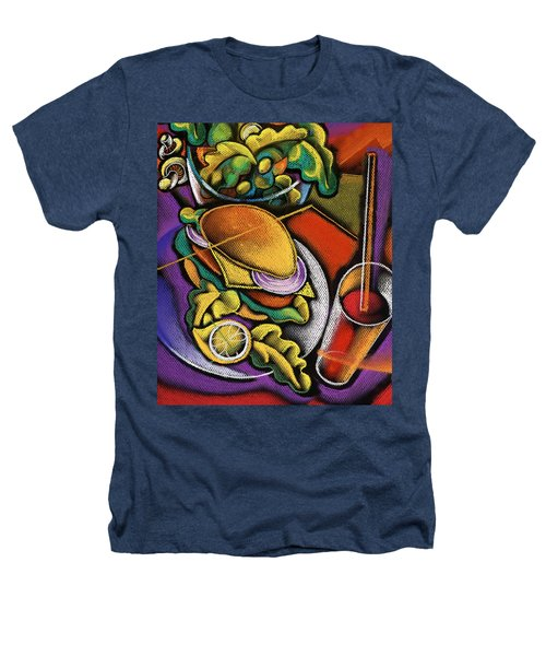 Food And Beverage Heathers T-Shirt by Leon Zernitsky