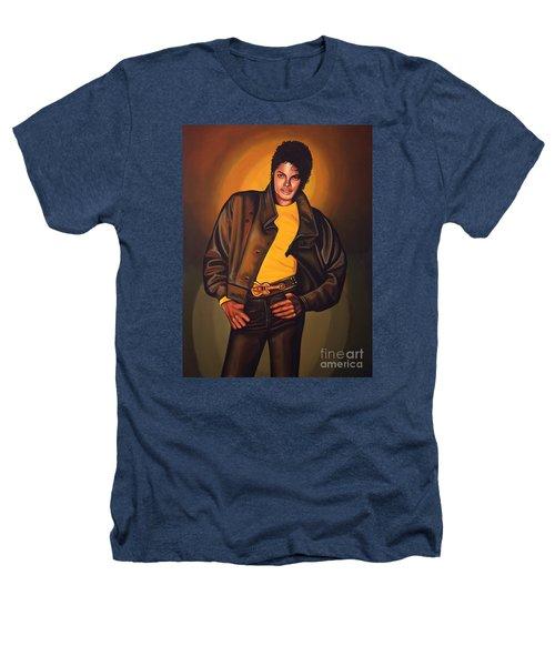 Michael Jackson Heathers T-Shirt by Paul Meijering