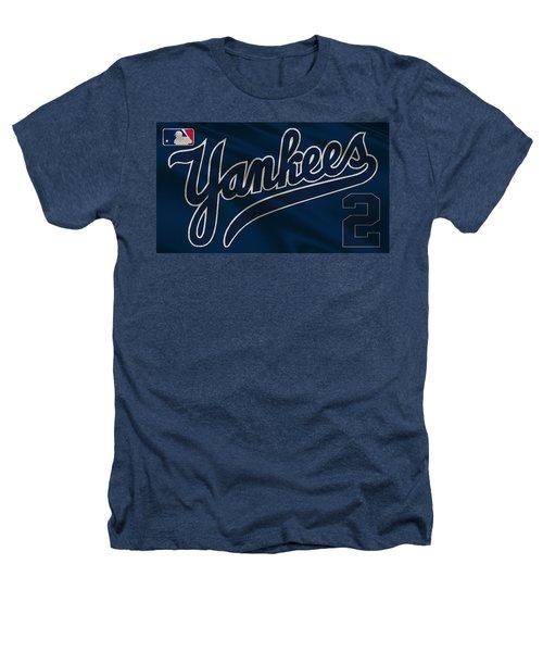 New York Yankees Derek Jeter Heathers T-Shirt
