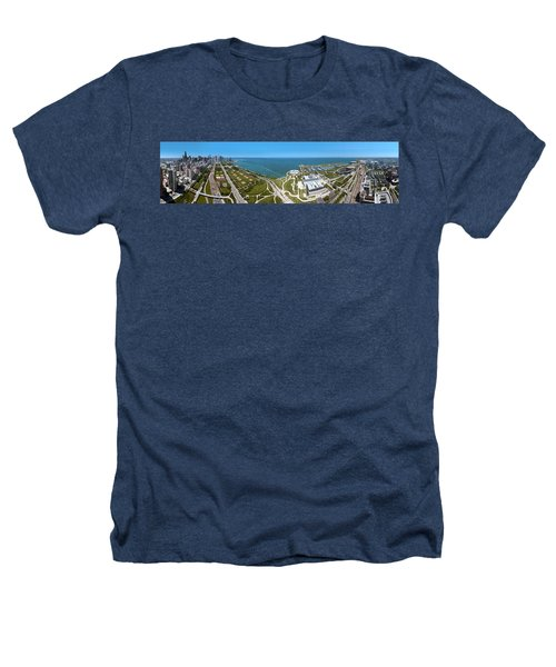 180 Degree View Of A City, Lake Heathers T-Shirt by Panoramic Images