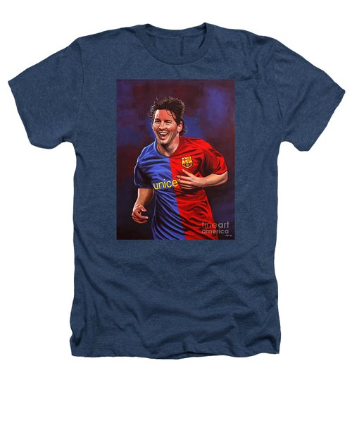 Lionel Messi  Heathers T-Shirt