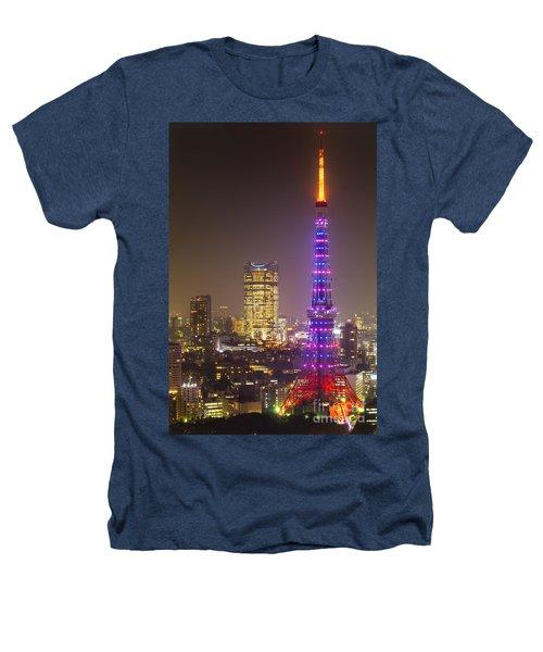 Tokyo Tower - Tokyo - Japan Heathers T-Shirt