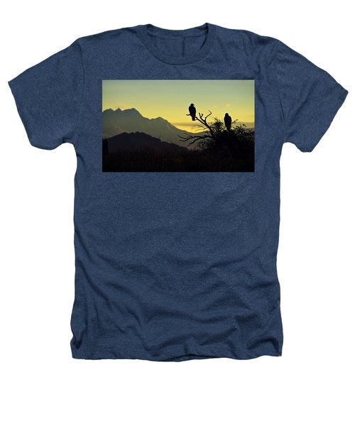 By Dawn's Early Light  Heathers T-Shirt